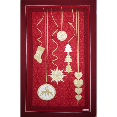 Pampilles (Ornaments), Red Christmas Kitchen / Tea Towel
