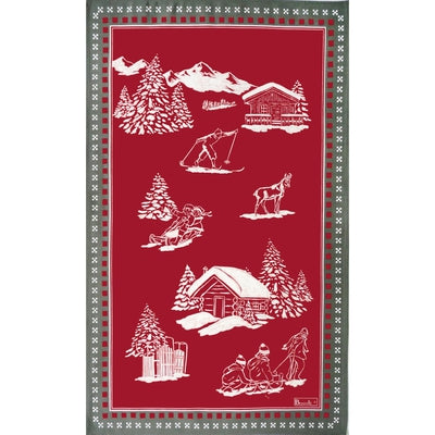 Chamois Winter Kitchen / Tea Towel