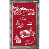 Beauvillé, Chamois Kitchen / Tea Towel