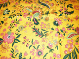 Versailles Yellow Provence Coated Cotton Tablecloth - Le Cluny