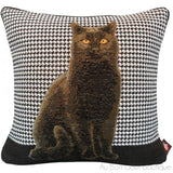 White Cat (Chat Blanc) Tapestry Pillow / Cushion Cover