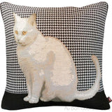 Black Cat (Chat Noir) Tapestry Pillow / Cushion Cover