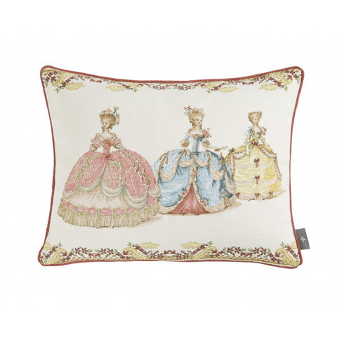 3 Duchesses Tapestry Pillow / Cushion Cover, with Insert