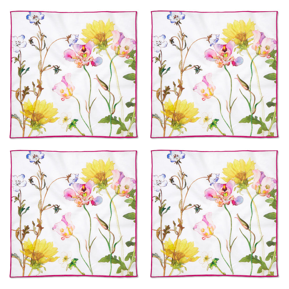 """Wildflowers"" Cloth Napkins"
