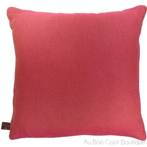 Coral Multicolored Large Pillow / Cushion Woven Tapestry Cover