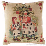 Les Jardinniers (The Gardeners) Tapestry Pillow / Cushion Cover