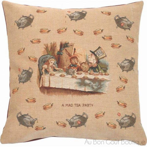 The Mad Tea Party Tapestry Pillow / Cushion Cover