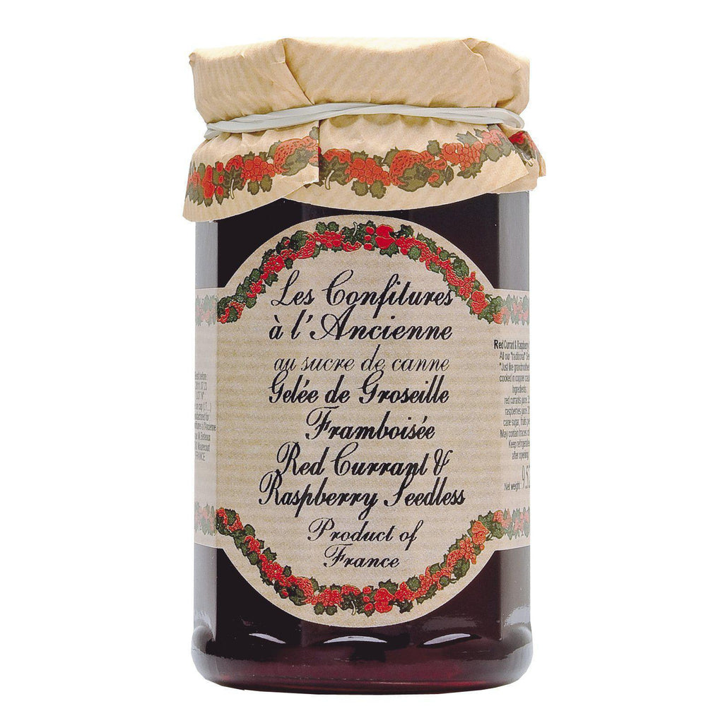 Les Confitures à la Ancienne, Seedless Raspberry & Red Currant Preserves