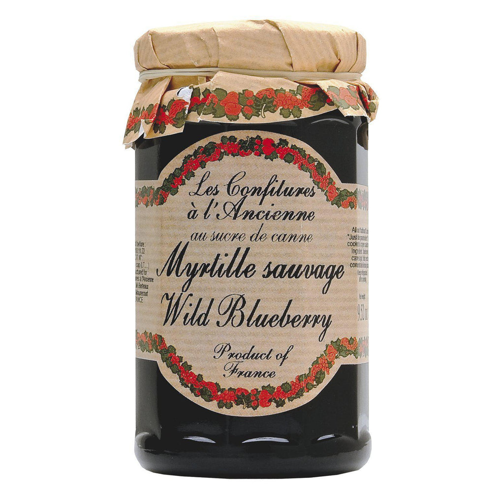 Les Confitures à la Ancienne, Wild Blueberry Preserves (Myrtille Sauvage)