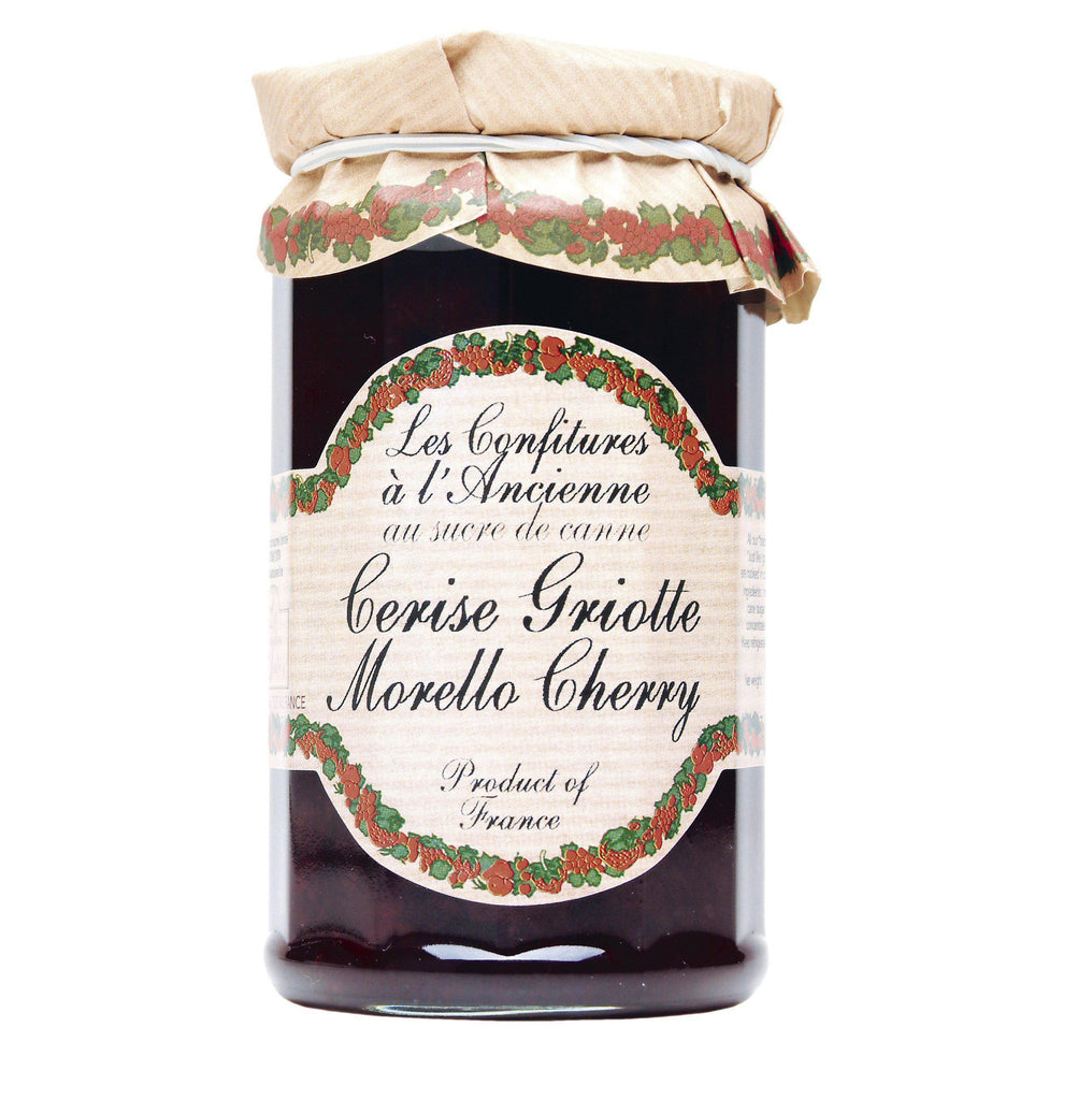 Les Confitures à la Ancienne, French Morello Cherry Preserves (Cerise Griotte)