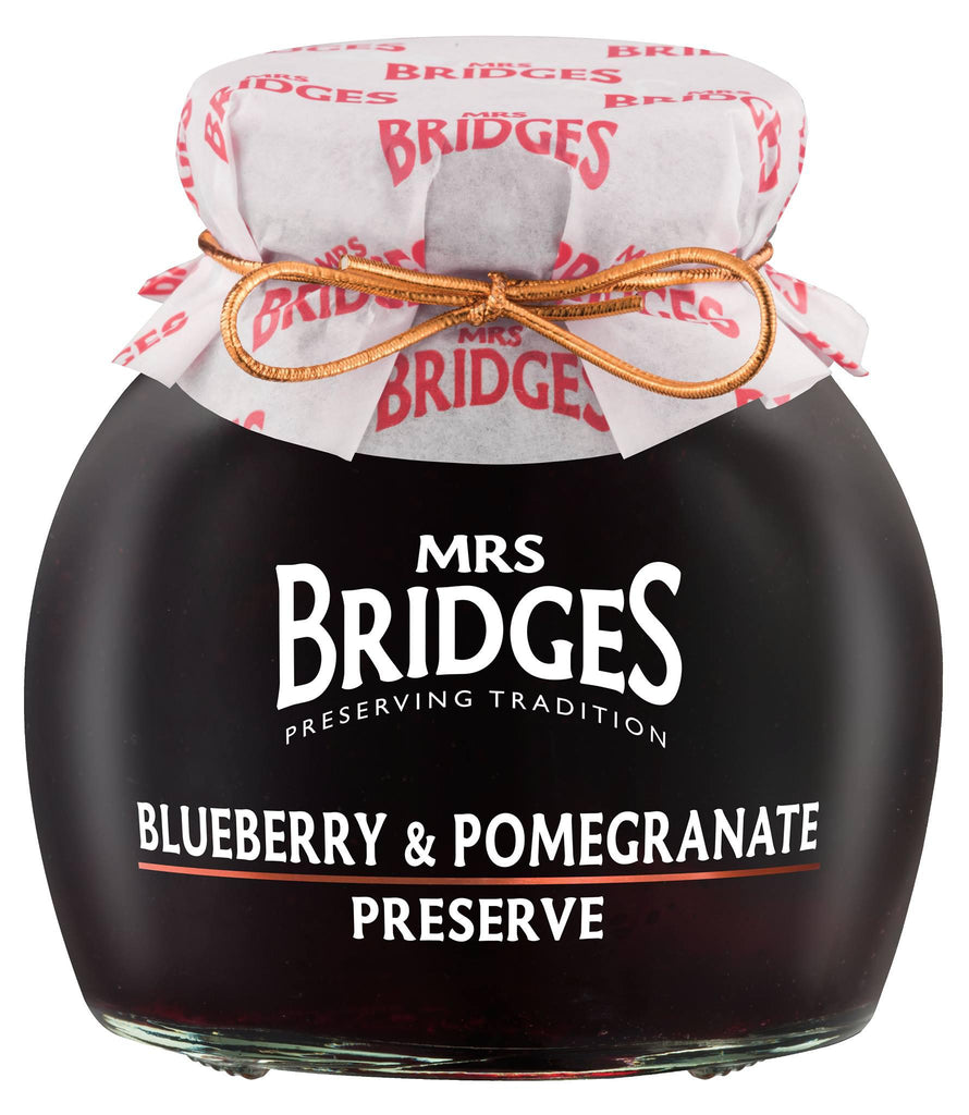 Mrs. Bridges of Scotland, Blueberry & Pomegranate Preserves