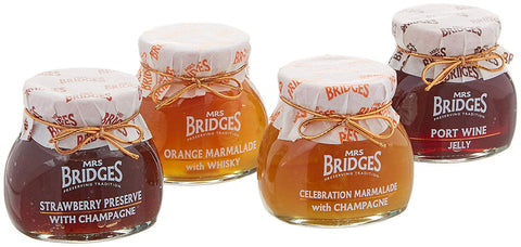 Mrs. Bridges of Scotland, Celebration Collection Gift Box, 4 Preserves