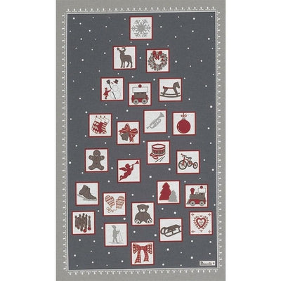 Chamonix Winter Holiday Kitchen / Tea Towel