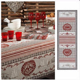 Cortina Grey Winter Table Runner