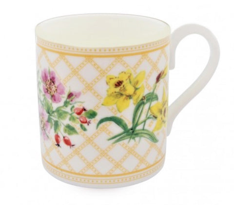 Halcyon Days, Flowers of the Realm Bone China Mug