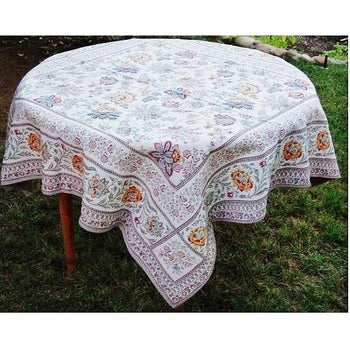 Attrayant Garance French Matelassé Tablecloth, ...