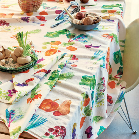 Mille Jardin, Potager Printed Kitchen / Tea Towel