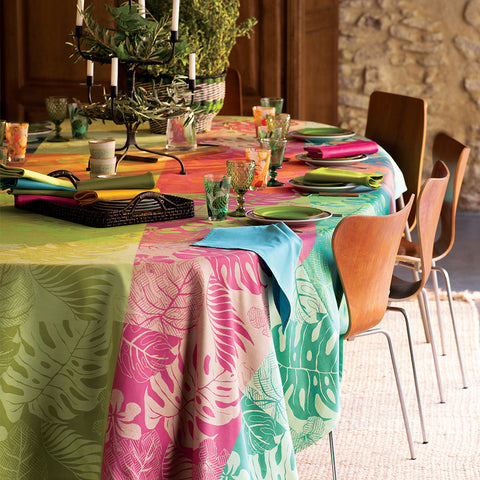 Mille Palma Pop Tablecloth, Coated & Non-Coated