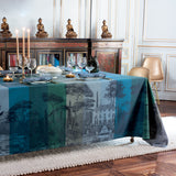 Palazzina Linea Nocturne Tablecloth, High Thread Count