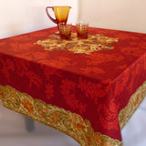 Ponte Vecchio Red Tablecloth