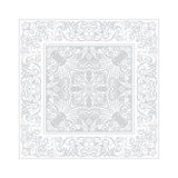 Alexandrine Neige Napkins, Organic Cotton