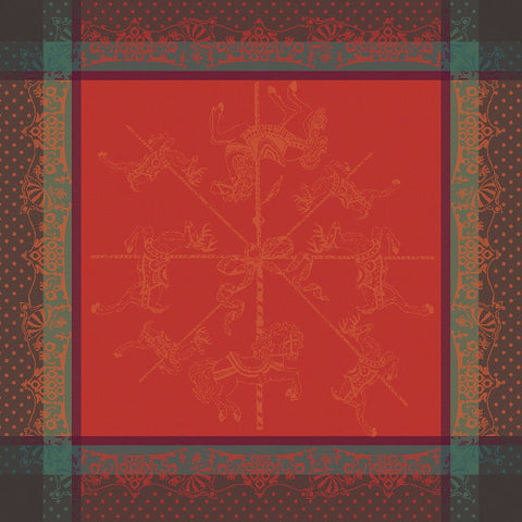 Carrousel Noel Christmas / Holiday Napkins