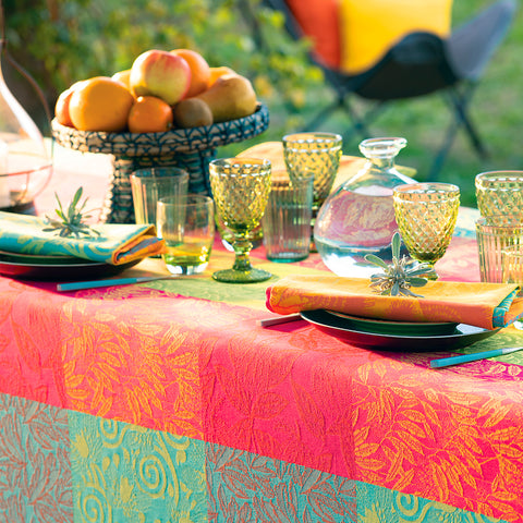 Mille Buissons Floraison Tablecloth, Coated & Non-Coated