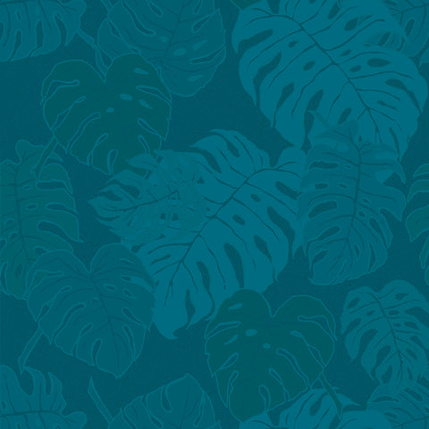 Mille Evergreen Ocean Tablecloth, Coated & Non-Coated