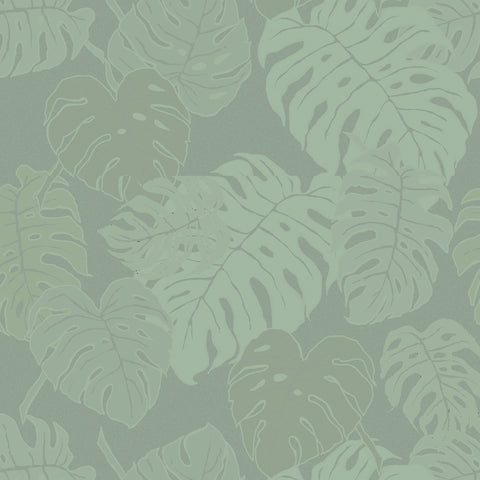 Mille Evergreen Vert De Gris Tablecloth, Coated & Non-Coated