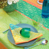 Mille Saris Kerala Tablecloth, Coated & Non-Coated