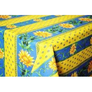 Sunflower Blue French Bread Basket