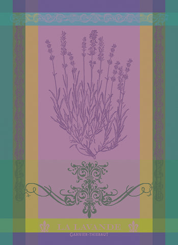 Butterfly Garden Celadon Kitchen / Tea Towel