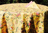 Le Cluny Versailles Yellow Provence Tablecloth, Au Bon Gout Boutique
