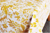 Le Cluny Versailles Yellow and White Provence Tablecloth, Au Bon Gout Boutique