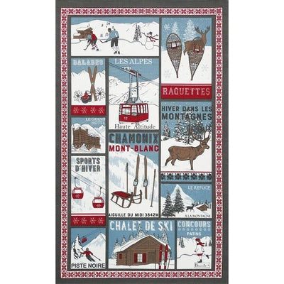 Beauvillé, Sapin Magique (Magical Christmas Tree) Kitchen / Tea Towel