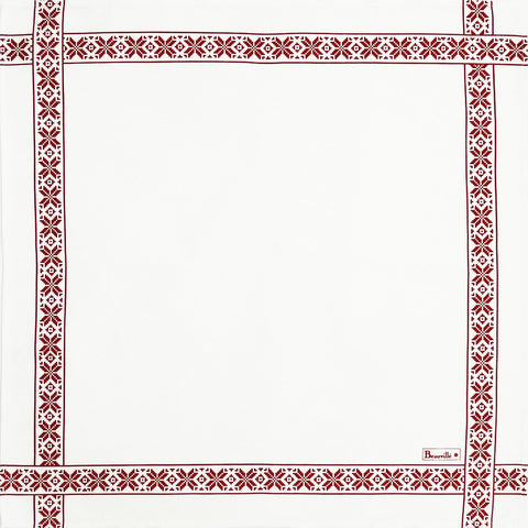 Mille Charmes Blanc (White) Table Runner