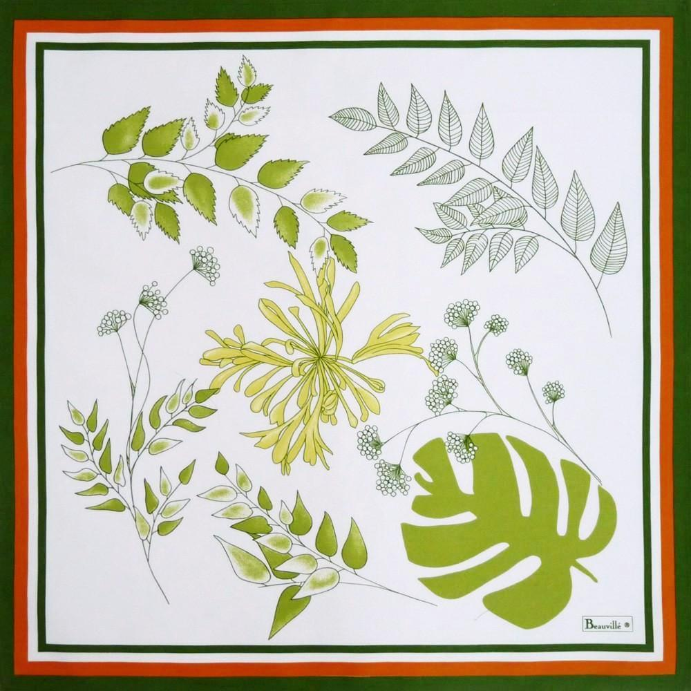 Agapanthes Green Napkins