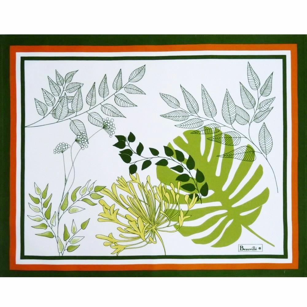 Agapanthes Green Placemats
