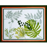 Agapanthes Green Tablecloth