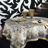 Adagio Grey Tablecloth