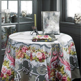 Arne La Nappe du Millenaire Grey Tablecloth