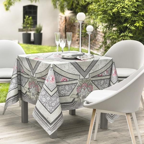 Versailles Platinum Tablecloth