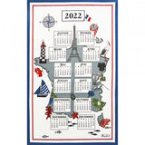 Beauvillé, 2022 French Annual Calendar,