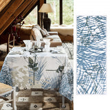 Caucase Blue Table Runner
