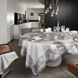 Chambord Grey Tablecloth