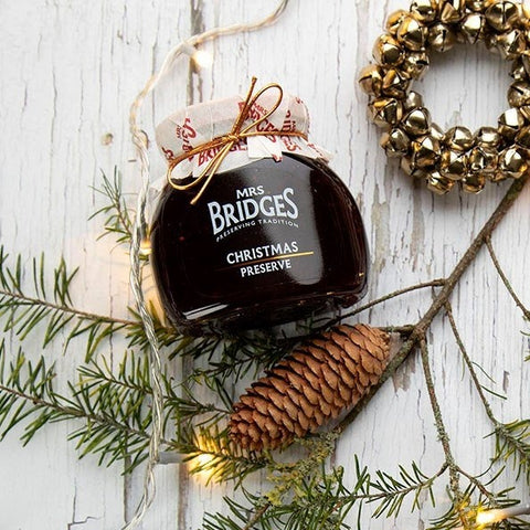 Mrs. Bridges of Scotland, Christmas Preserves - Red Berries with Mulled Wine
