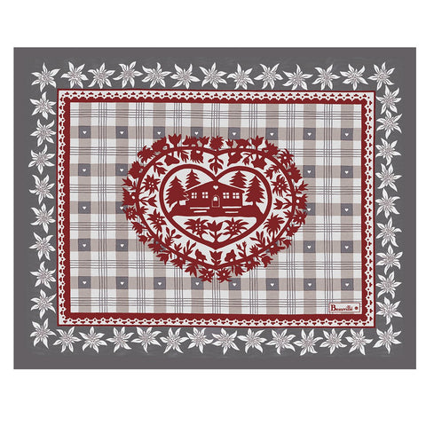 Cortina Grey Winter Placemats