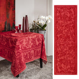 Beauvillé, Dîner en Ville, Vermillion Table Runner