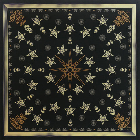 Beauvillé, Feerie Onyx Holiday Napkins