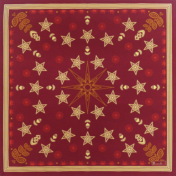 Beauvillé, Feerie Red Holiday Napkins